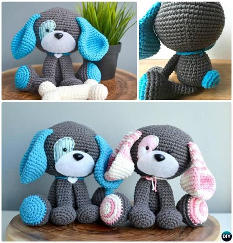 amigurumi pattern dog free diy crochet amigurumi puppy dog stuffed toy free patterns