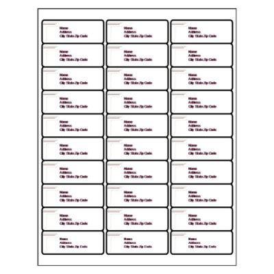 best photos of blank label templates 30 per sheet return address