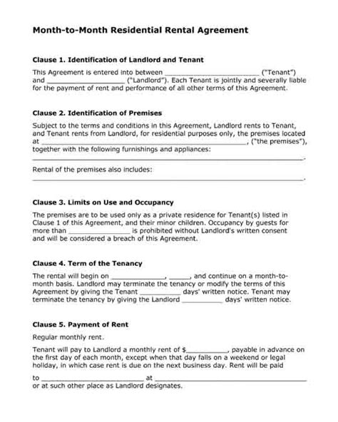 desk rental agreement template free printable forms
