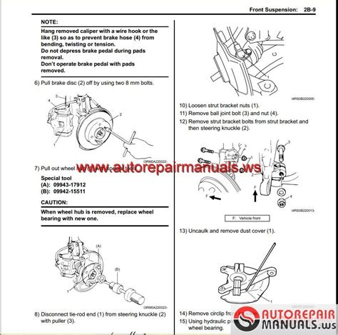 1999 suzuki swift repair manual pdf