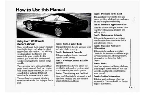 free auto repair manuals 1993 chevrolet corvette free book repair manuals 1993 chevrolet corvette c4 zr 1 owners manual