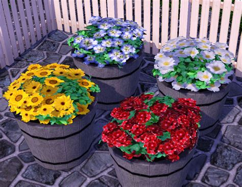 empire sims 3 3 small potted plants by lisen801 mod the sims potted plant recolors