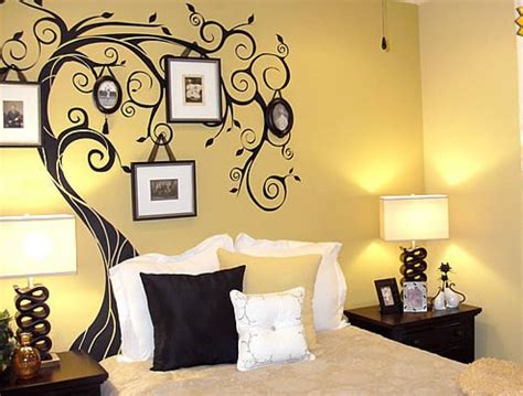 art on walls decoration for your home interior with stunning tree
