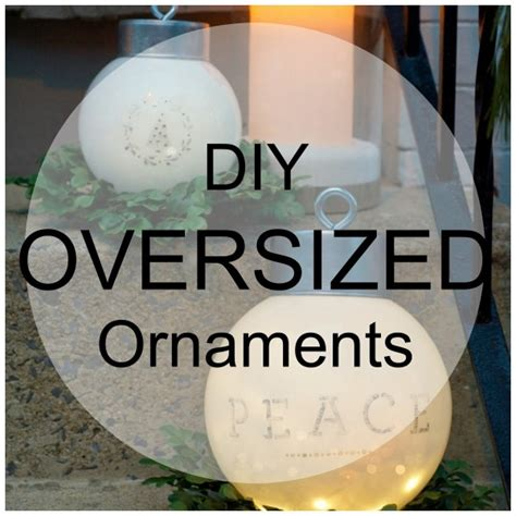 oversized outdoor ornaments home and garden