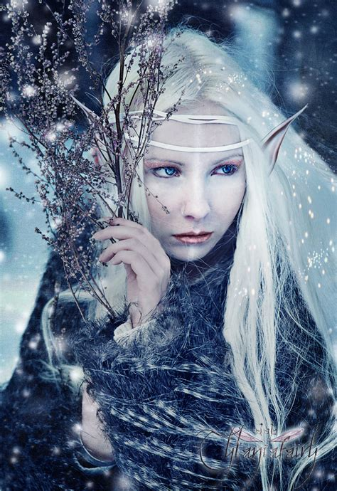 fairytale snow elves lori s fantasy world