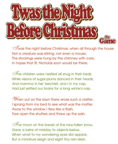 printable version twas the night before christmas akela s council cub scout leader training twas the night