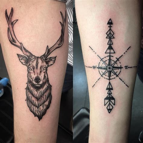 stag tattoos 65 awesome scottish tattoos and ideas