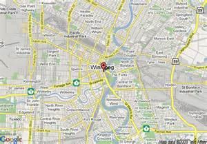 winnipeg on map