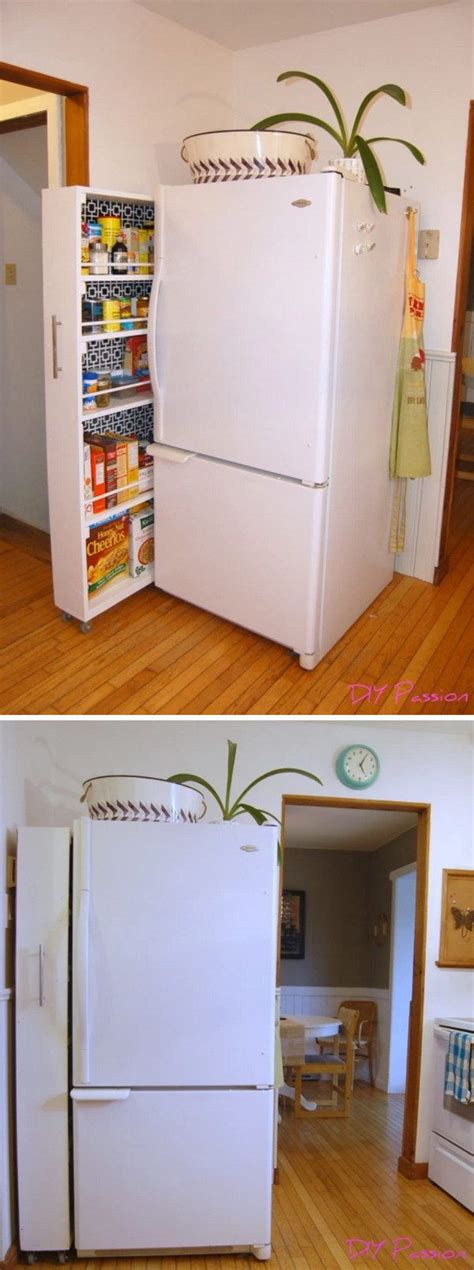 Small Pantry Solutions by 1000 Ideas About Small Space Storage On Small
