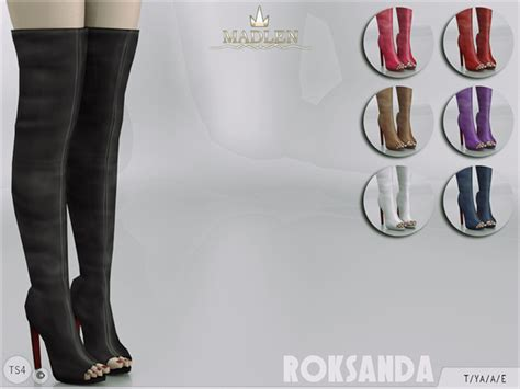 Top Home Decor Websites the sims resource madlen roksanda boots by mj95 sims 4