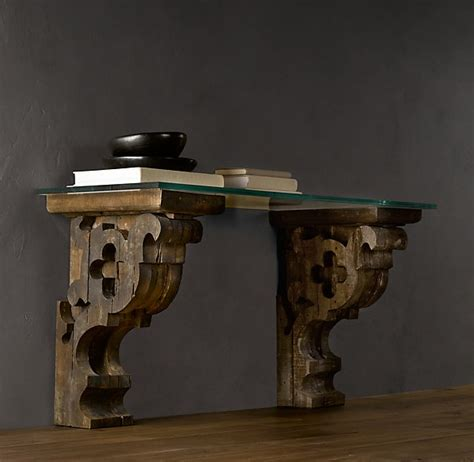 Restoration Hardware Corbels pin by miceli on furniture