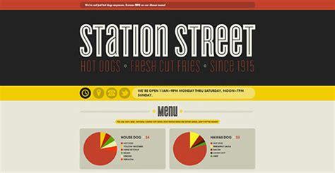 cara membuat website yang menarik 10 contoh desain website typography yang menarik