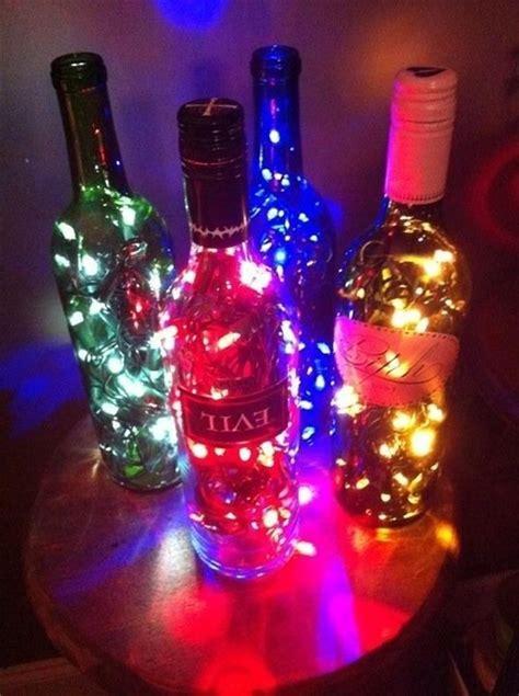 diy light up wine bottle diy wine bottle light