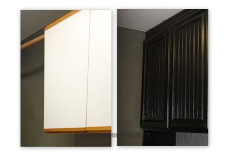 1000 images about laminate cabinet refinish on pinterest serendipity woodwork and chic oak and laminate cabinet refacing makeover magic