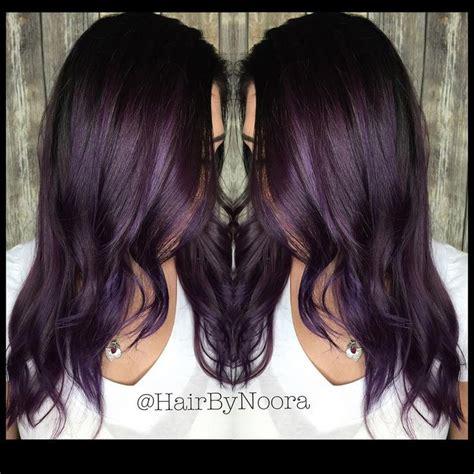 aubergine hair color best 25 aubergine hair color ideas on