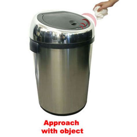 Industrial Kitchen Garbage Cans Trash Cans 18 Gallon Large Commercial Size Stainless