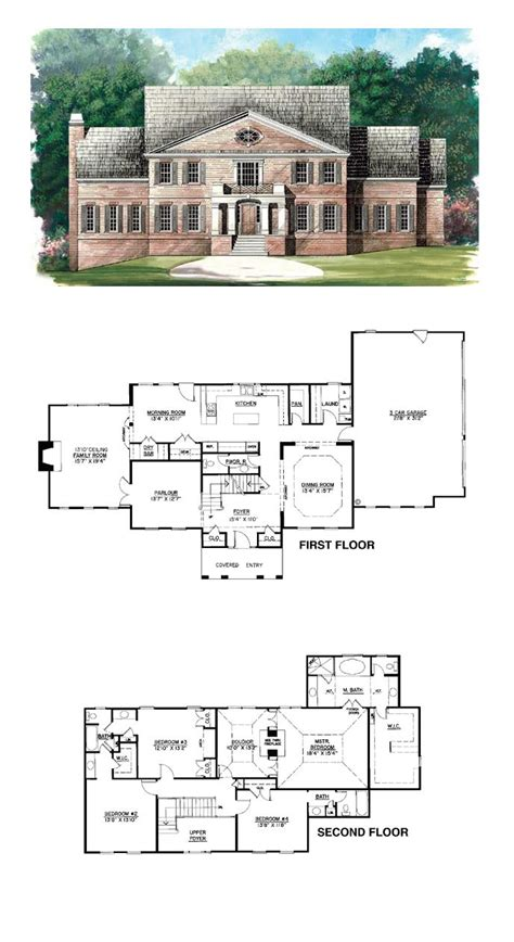revival house plans the 49 best images about revival house plans on house plans 3 car garage and