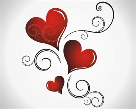 valentines day hearts valentines day background wallpaper vector gallery