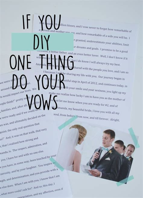 Best 25  Unique wedding vows ideas on Pinterest   Wedding