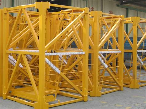 tower crane mast section mast section for potain crane and liebherr tower crane id