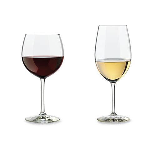bed bath and beyond wine glasses buy libbey 174 vineyard 12 piece reserve wine glass set from bed bath beyond