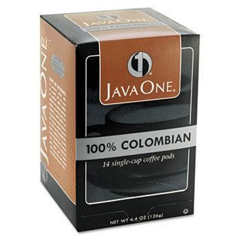 Phone Lookup Colombia Javaone Supremo Coffee Pods Single Serve Coffee Coffee For Less