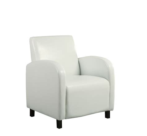 chaise d appoint monarch specialties chaise d appoint simili cuir blanc