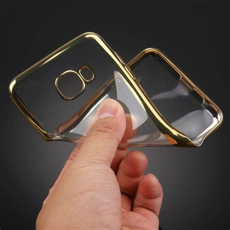Diskon Golden Metalic Looking Soft Cover F for samsung galaxy a3 2016 a310 electroplating transparent soft tpu protective cover