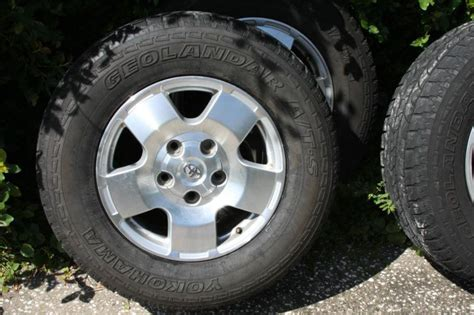 Toyota Tundra Trd Wheels Buy Toyota Tundra Trd 18 Inch Wheels And Tires Motorcycle