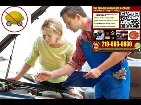 Auto Repair Reviews Near Me Pre Purchase Car Inspection San Antonio Mobile Auto