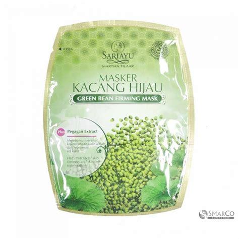 Masker Produk Sariayu detil produk sari ayu masker kacang hijau sachet 121