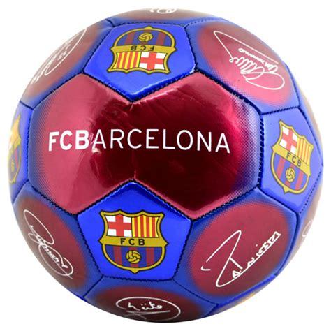 Barcelona Signature 5 barcelona size 5 signature football claret blue