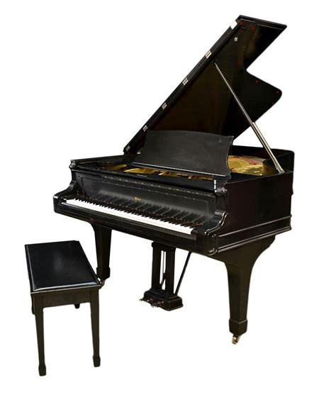 grand piano bench weber ebony finish refurbished grand piano bench