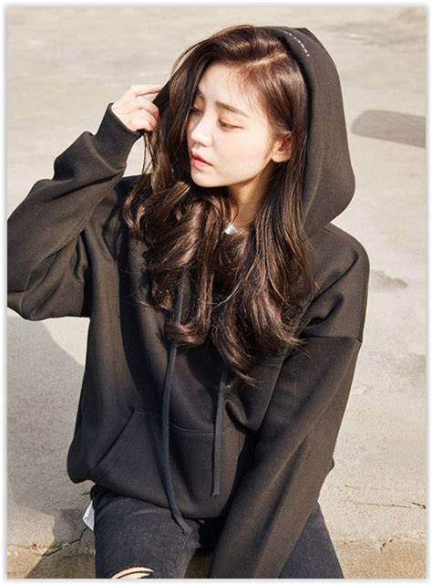 Lettering Fleece Lined Pullover chuu hooded lettering brushed fleece lined pullover