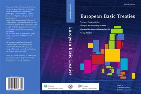 treaties of the european union european basic treaties treaty on pdf download available