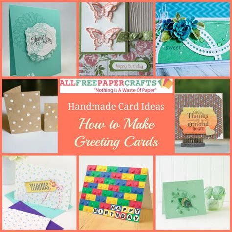 make greeting cards free 35 handmade card ideas how to make greeting cards