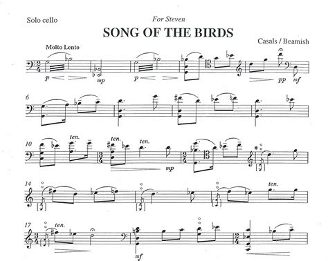 The Song Of The Bird sally beamish song of the birds