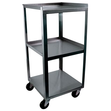Three Shelf Cart by 3 Shelf Compact Cart W56106 Ideal Mc314 Carts 3b