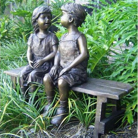 sex on a bench boy and girl sitting on bench garden statue hot girls wallpaper