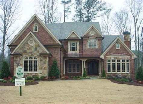 stone  brick homes  modern pedestrian  european style home stone  brick homes