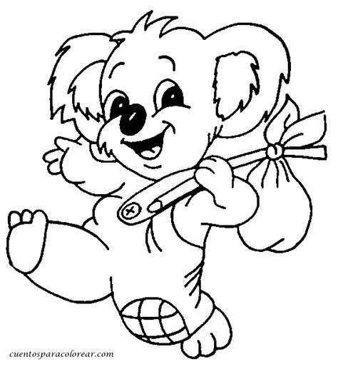 dibujos para colorear koala dibujos para colorear koalas