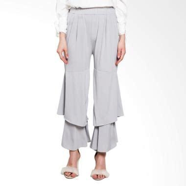 Vlt Longdress Fashion Scuba Hitam jual celana panjang rok wanita muslimah model terbaru blibli