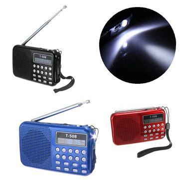 Lu Sign Mobil Led t508 led stereo fm radio speaker usb tf card mp3