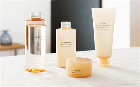 Skin Care Shelf by Shelf Muji Balance Skin Care Fashion Grunge