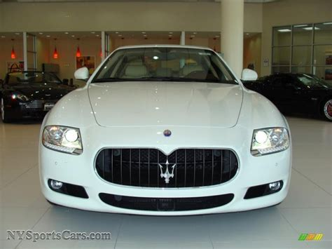 White Maserati Quattroporte 2010 Maserati Quattroporte In White Photo 2 051950 Nysportscars Cars For Sale In New York