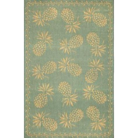 Pineapple Rug by Pineapple Indoor Outdoor Rug 5 Different Colors