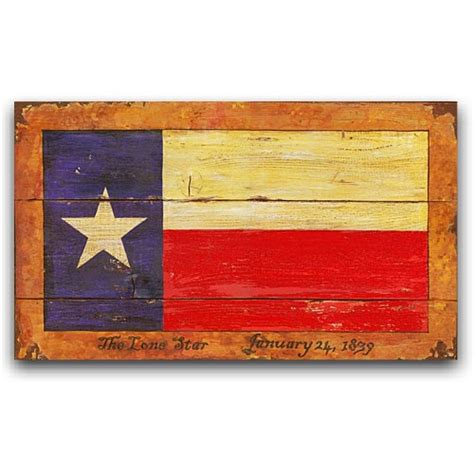 vintage wood signs home decor texas flag western decor vintage sign 26x14
