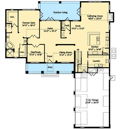 bonus room plus fifth bedroom 42825mj architectural