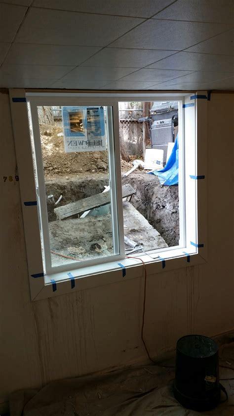 basement egress window installation meticulous home