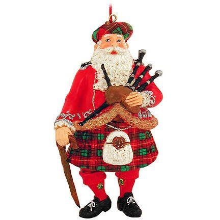 scottish piper christmas decoration celtic decorations scotland